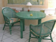 Table Ronde Carlat Avec 2 Allonges -